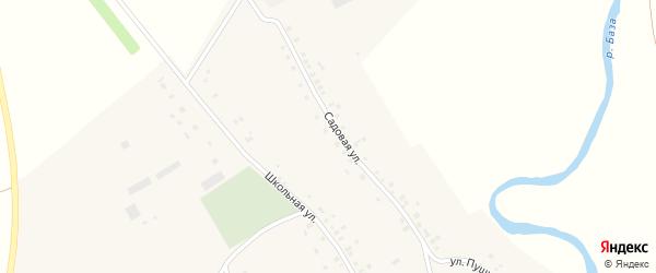 Улица Пушкина на карте села Рсаево с номерами домов