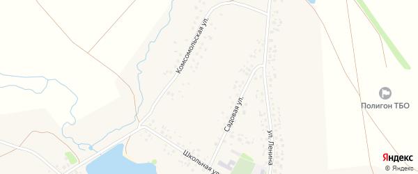 Горная улица на карте села Копей-Кубово с номерами домов
