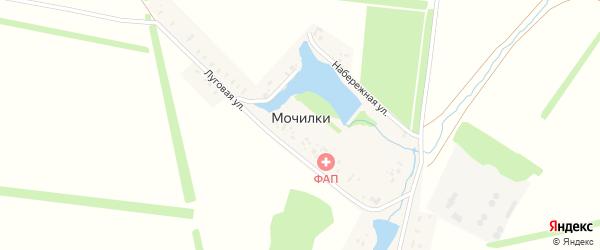 Набережная улица на карте деревни Мочилки с номерами домов