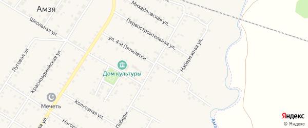 4-я улица на карте СНТ Строителя СУ ЭПЖС с номерами домов