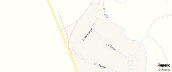 Полевая улица на карте села Новобалтачево с номерами домов