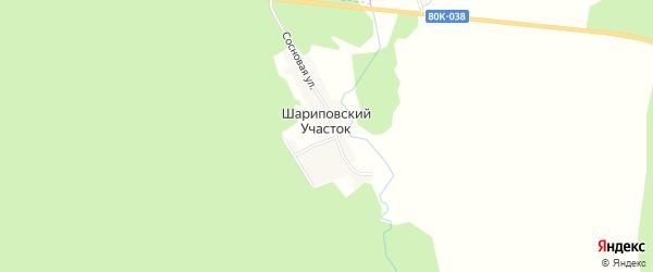 Карта деревни Шариповского Участка в Башкортостане с улицами и номерами домов