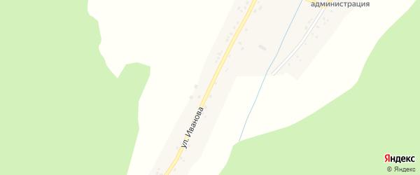 Улица Иванова на карте села Кайраклы с номерами домов