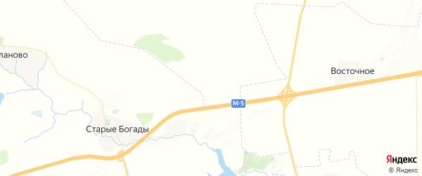 Карта Копея-Кубовского сельсовета республики Башкортостан с районами, улицами и номерами домов