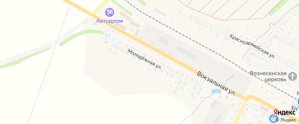 Молодежная улица на карте села Буздяк с номерами домов