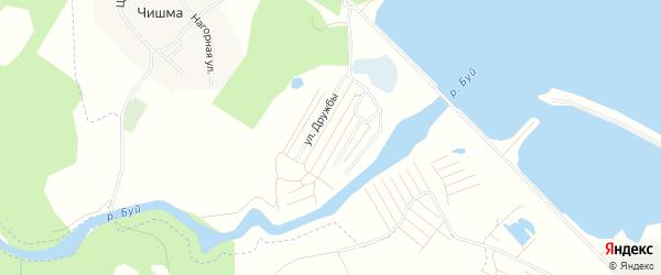 СНТ Буй на карте Нефтекамска с номерами домов