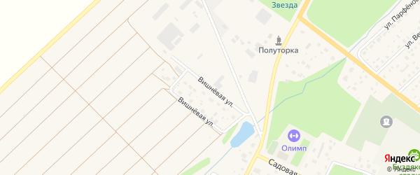 Вишневая улица на карте села Буздяк с номерами домов