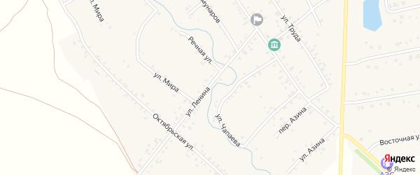 Улица Ленина на карте села Карманово с номерами домов