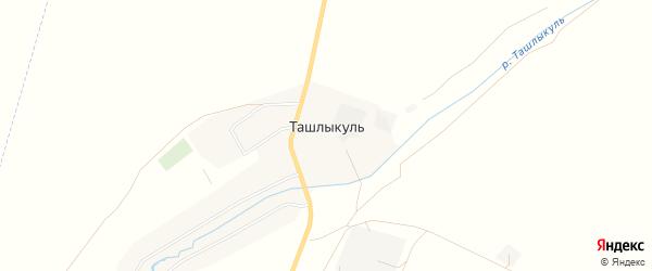 Карта села Ташлыкуля в Башкортостане с улицами и номерами домов