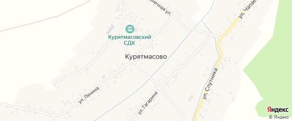 Школьная улица на карте села Курятмасово с номерами домов
