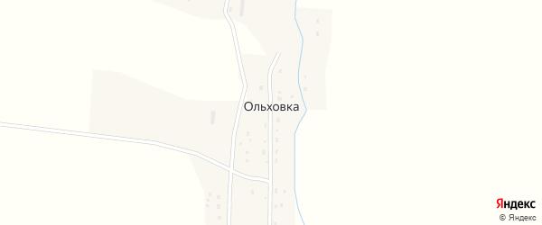 Молодежная улица на карте деревни Ольховки с номерами домов