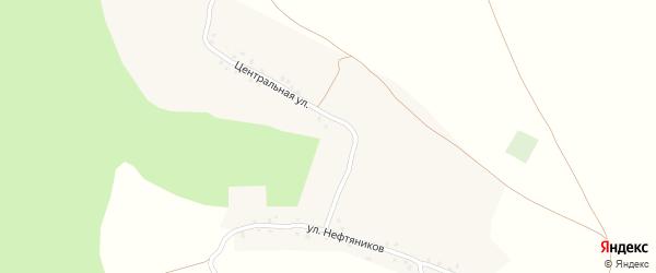 Центральная улица на карте деревни Чангакуля с номерами домов