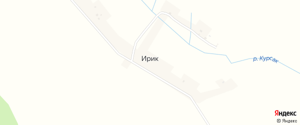 Улица Свободы на карте деревни Ирика с номерами домов