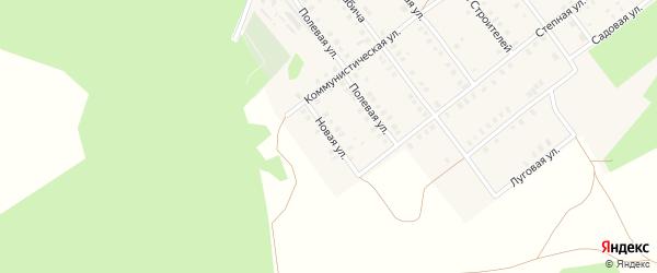 Новая улица на карте села Семилетки с номерами домов