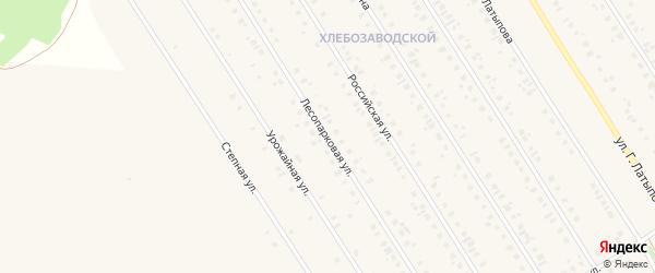 Лесопарковая улица на карте села Чекмагуш с номерами домов