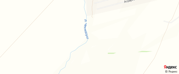 Карта деревни Новосурметово в Башкортостане с улицами и номерами домов