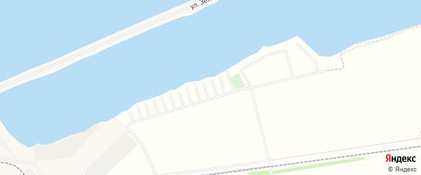 СНТ Красный Яр на карте села Энергетика с номерами домов