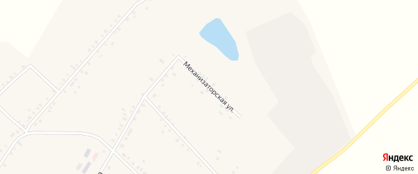 Механизаторская улица на карте села Исмаилово с номерами домов