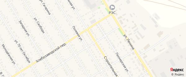 Строительная улица на карте села Чекмагуш с номерами домов
