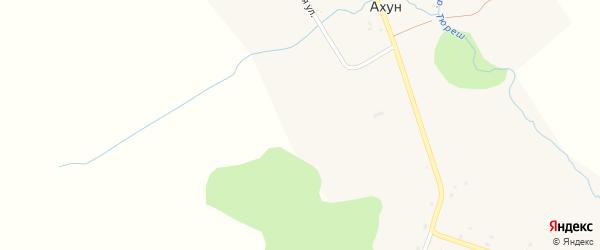 Улица Энгельса на карте села Ахуна с номерами домов
