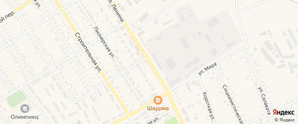 Улица Ленина на карте села Чекмагуш с номерами домов
