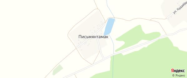 Интернациональная улица на карте деревни Письмянтамака с номерами домов