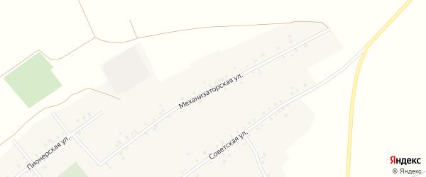 Механизаторская улица на карте села Каралачук с номерами домов