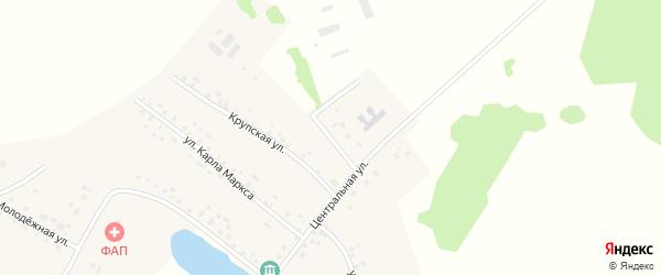 Механизаторская улица на карте села Юсупово с номерами домов