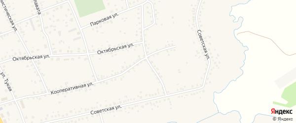Улица Пушкина на карте села Чекмагуш с номерами домов