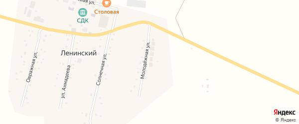Молодежная улица на карте села Ленинского с номерами домов