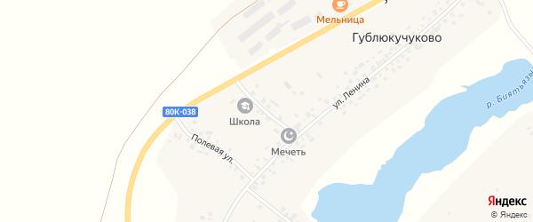 Школьная улица на карте села Иванаево с номерами домов