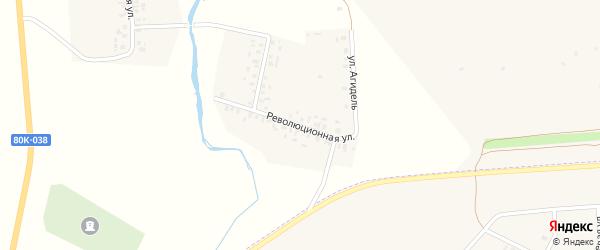 Революционная улица на карте села Гублюкучуково с номерами домов