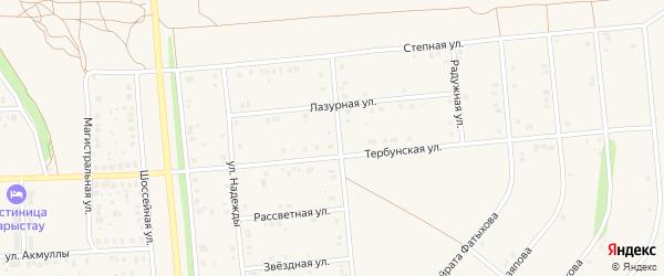 9 мая улица на карте села Киргиза-Мияки с номерами домов