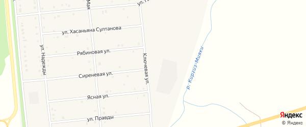 Улица Гагарина на карте деревни Кашкарово с номерами домов