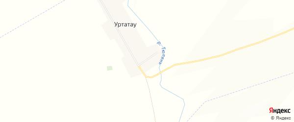 Карта деревни Уртатау в Башкортостане с улицами и номерами домов
