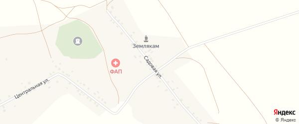 Садовая улица на карте села Тузлукушево с номерами домов
