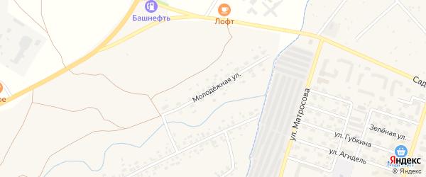 Молодежная улица на карте села Иванаево с номерами домов