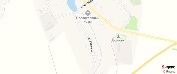 Улица Курмыш на карте села Ерлыково с номерами домов