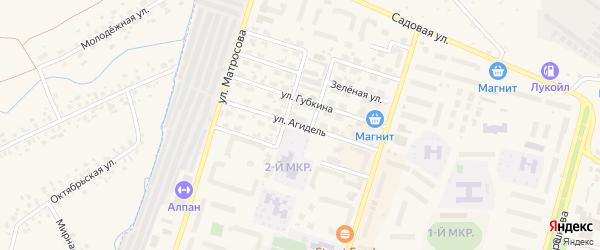 Улица Агидель на карте Дюртюлей с номерами домов