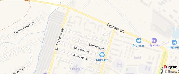 Улица Строителей на карте Дюртюлей с номерами домов