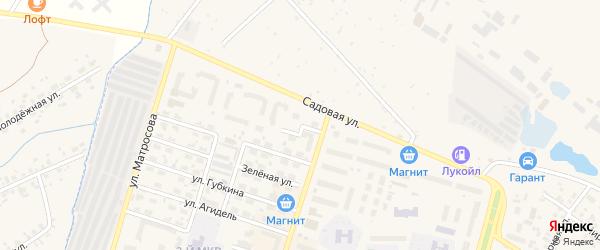 Целинная улица на карте Дюртюлей с номерами домов