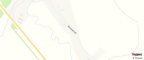 Речная улица на карте села Новые Ишлы с номерами домов