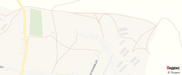 Кызылшаровская улица на карте села Старокучербаево с номерами домов