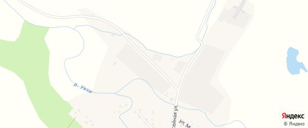 Речная улица на карте села Качеганово с номерами домов