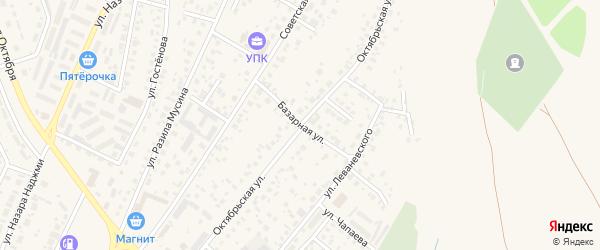Октябрьская улица на карте Дюртюлей с номерами домов