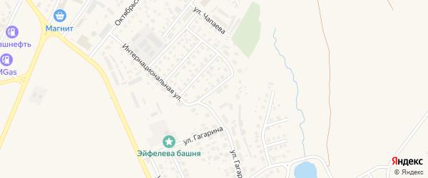 Улица Мусы Джалиля на карте Дюртюлей с номерами домов