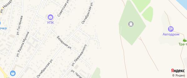 Горная улица на карте Дюртюлей с номерами домов