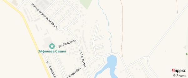 Улица Александра Невского на карте Дюртюлей с номерами домов