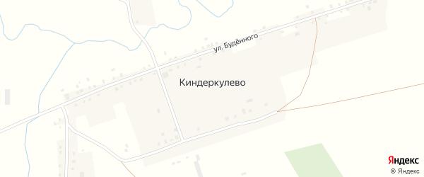 Улица Мира на карте деревни Киндеркулево с номерами домов
