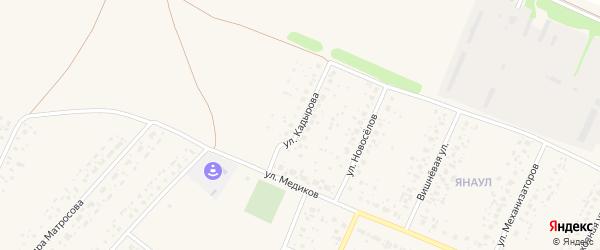 Улица Кадырова на карте села Раевского с номерами домов